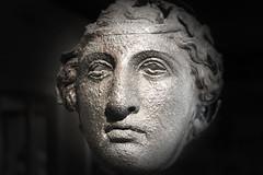 Reperto di un volto etrusco (bellinipaolo31) Tags: fc03911 asciano paese toscana italia volti scultura siena città borgo medioevo museocivicoarcheologicoed'artesacra palazzocorboli etruschi
