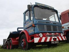 AEC MM6 (fannyfadams) Tags: uk classic truck wagon shropshire mona lorry restored british anglesey haulage 760 gwalchmai salop ergomatic lloydsofludlow pnt866g aecmammothmajor6