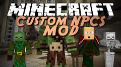 Custom NPCs Mod 1.10.2/1.7.10 (KimNanNan) Tags: minecraft 3d game online video games