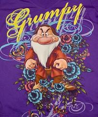 7 Dwarfs Grumpy (itstayedinvegas-4) Tags: graphicteeshirts disney disneyworld sevendwarfs snowwhite disneyland grumpy