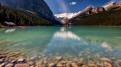 Lake Louise (NoVice87) Tags: canada alberta banff nationalpark lake glacierwater blue