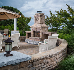 ANCHOR_N_RES_BEL2015_Patios_Fireplaces_Walls_Columns_EcoDublin_BelairWall_Holland_BrightonFireplace_001_preview (bdlmarketing) Tags: paverstone patio firepit fireplace fire place unique landscape hardscape dreamscape belgard retainingwall backyard landscapelighting