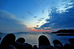sunset-13 (itsuo.t) Tags: sunset twilight inlandsea evening dusk aftersunset cloud sea sky