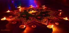 DSC_0020 (singhbhanupratap678) Tags: rangoli symbol positive energy indian tradition diwali fest night photography