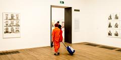 Vivid (Sean Batten) Tags: orange tatemodern tate nikon df 35mm london england unitedkingdom gb city urban gallery artgallery