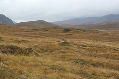Drumlins, eskers and terminal morraines from glacier melt during the last Ice Age, 12,000 years ago. (Shandchem) Tags: ben loyal tongue sutherland drumlins eskers terminal morraines ice age glaciers