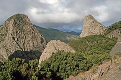 Parque Nacional de Garajonay - Los Roques (astroaxel) Tags: spanien kanarische inseln la gomera parque nacional de garajonay los roques