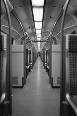 S6 (n0core) Tags: s6 sbahn bahn zug train dsseldorf analog bw bahnhof canon 35mm 135 f1 film filmfilmforever grain korn transport lomography lomo infinity infinit n74 n74plus orwo ostfilm panchromatic nrw urban verlassen verlassenes verkehr traffic railroad railway rails