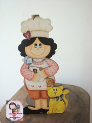 CozinHeiRa...Porta papel toalha (Ma Ma Marie Artcountry) Tags: pinturacountry pinturadecorativa dunaatelie dunaatelier cozinheira mdf mdfcozinha country