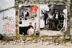 by ? (lepublicnme) Tags: 200 analog argentique expired film kodacolor kodak france paris july 2015 streetart paste wheatpaste