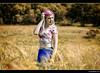 Claudia - 1/6 (Pogdorica) Tags: modelo sesion posado retrato claudia campo trigal amapolas pelo