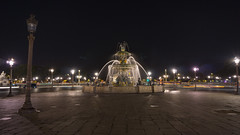 Fontaine des mers, Paris (Shid0x) Tags: fountain fontaine paris mers concorde sony a6000 art architecture place night water street batiment extrieur