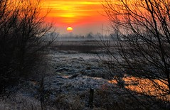 Sunset over Idle Stop (Lutra56) Tags: riveridle idlevalley idlestop hdrphoto hdrlandscape hdrimage canon landscape scenery scenic sunset sundown winterscene