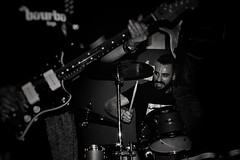 (VRomán) Tags: black blackandwhite blackandwhitephotography blancoynegro blackwhite bw bnw light lightandshadow music musicphotography concert livemusic rockroll stonnerrock drumming drummer drums drum guitars attitude mood friend musician photography canon direct