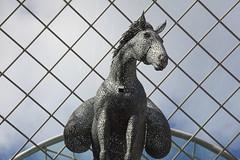 IMG_5078 (Yorkshire Pics) Tags: trinity trinityleeds trinityshoppingcentre horse horsesculpture 2310 23102016 october leeds