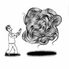 Beware the BHAG (Don Moyer) Tags: bhag ink drawing moleskine notebook moyer donmoyer brushpen hair hairy