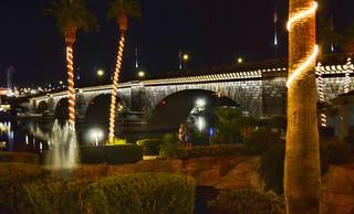 London Bridge Lights, Lake Havasu City Arizona