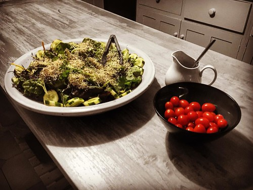 #salad #cherrytomatoes #countrykitchen