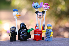 Vader revisited (Frost Bricks) Tags: lego darth vader kylo ren sith balloon day out