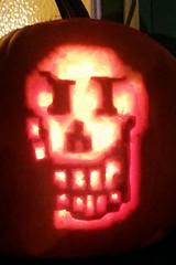 Papyrus Pumpkin (Black Rose Bride) Tags: undertale jackolantern papyrus halloween