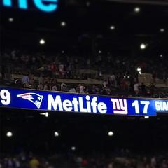 Giants schlagen die Patriots (SCHÄFER MEDIADESIGN) Tags: nfl new york giants metlife nyc newyork