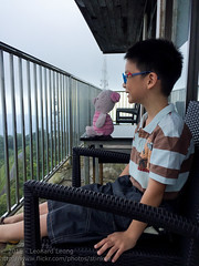 Ethan and Piglet at Gunung Raya (Stinkee Beek) Tags: langkawi ethan