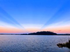 Mirrored Sunrise HDR 02-20161127 (Kenneth Cole Schneider) Tags: sky sunrise florida miramar westbrowardwca