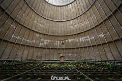 Cooling Tower (Quiet Unusual) Tags: quiet urbex unusual art old cooling tower