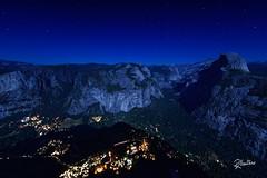 Yosemite Night (Riccardo Maria Mantero) Tags: mantero riccardomariamantero blue landscape night outdoors park sky travel usa