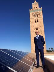 Ahmed Bouzid (cementley) Tags: cop22 marrakech morocco marrakesh unfccc unitednations climatechange november 2016 photojournalism ahmedbouzid sie mosques greenmosques mosquéesvertes solarpanels photovoltaic rooftopsolar islam renewableenergy koutoubia qutubia mosquée al
