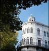 Rollie goes Rotterdam (09) (Hans Kerensky) Tags: rollei rolleiflex t model 3 tlr tessar 135 75mm lens kodak portra 160 film scanner plustek opticfilm 120 rotterdam october 2016 royal yachting club wereldmuseum