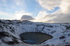Iceland Vulcano Kerið (Bastian S. Photography) Tags: kerið kerid kerith iceland island nikon d5000 nikkor 1870mm winter travel nature x3 x9 x13