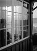 Behind Curtains (sterileeye) Tags: brekkeparken skien norway window backlight ilford fp4 mamiya 645 rodinal pullprocessing telemarkmuseum