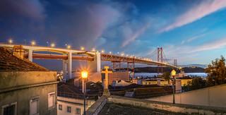 Lisbon's slow nightfall