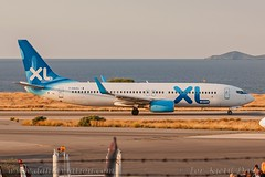 F-HAXL, XL Airways France, Boeing 737-8Q8(WL) - cn 35279. (dahlaviation.com) Tags: her lgir heraklion crete greece planespotting spotting dahlaviationcom dahlaviation aviation airplanes aircraft aircrafts airplane boeing