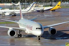 Qatar Airways B787-8 A7-BCJ taxiing at MAN/EGCC (AviationEagle32) Tags: qatarairways qatari flyqatar qr23 manchester man manchesterairport manchesteravp manchesterairportatc manchesterairportt1 manchesterairportt2 manchesterairportt3 egcc cheshire unitedkingdom uk airport aircraft airplanes apron aviation aeroplanes avp aviationphotography aviationlovers avgeek aviationgeek arrivals aeroplane airplane boeing planespotting planes plane flying flickraviation flight tarmac vehicle ramp boeing787 boeing787dreamliner b787 b787800 b787dreamliner b7878 dreamliner 787 a7bcj
