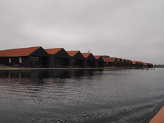 Repetition (Rushay) Tags: repetition building water aligned denmark roof