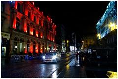 St Vincent Street Glasgow (Ben.Allison36) Tags: buchanan street glasgow night shot scotland christmas lights st vincent stvincentstreet hand held