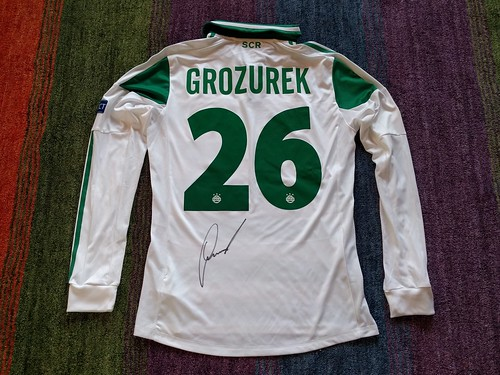 SK Rapid Wien match worn shirt 2013/14 Lukas Grozurek