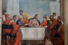 Veronese (d. 1588), Banquet in the House of Le...