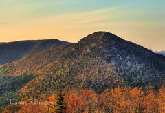 Hawksbill Mountain (Danny Buxton) Tags: sunset usa canon landscape nc mark national 5d gorge wilderness burke ii 2012 mountains county area canon north forest carolina mygearandme mygearandmepremium burke linville pisgah 24mm105mm
