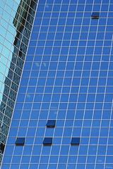Blue Windows (-clicking-) Tags: city blue windows abstract reflection glass lines architecture rural mirror aqua open close architectural vietnam saigon saigontradecenter