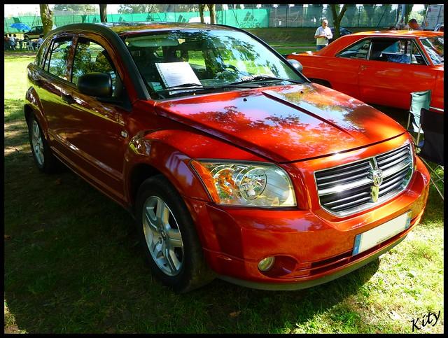 auto show crazy automobile voiture dodge caliber américain americain 2011 véhicule worldcars