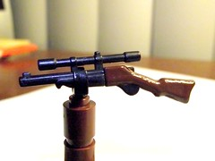 I have gone over to the Dark Side (Bricks_n_more) Tags: paint lego rifle custom minifigaccessories