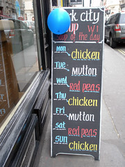 Soup of the Day (tezzer57) Tags: urban london menu soho wardourstreet soupoftheday londonist