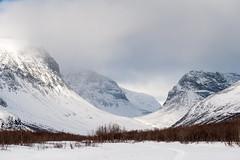 Vistas valley (Johan Assarsson) Tags: winter mountain snow trekking skiing sweden hiking lappland crosscountry lapland crosscountryskiing kebnekaise kungsleden kingstrail visttasvággi vistasdalen vistasvalley
