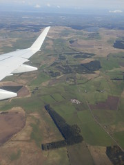 The Flight to Edinburgh #5 (Diamond Geyser) Tags: clouds scotland wing aeroplane hills aerialshot britishairwaysflight