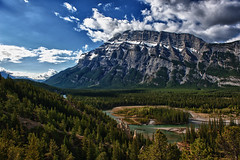 View from lookout in Banff (Cameron Braaten) Tags: mountain spring nikon may alberta banff d800 2470 2013