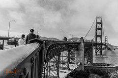A Fresher Perspective (Rainier Calo Photography) Tags: bridge white black monochrome landscape golden gate san francisco