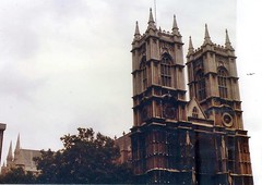 Westminster Abbey, London (sftrajan) Tags: london church westminster westminsterabbey historic eglise hawksmoor coronation goticrevival